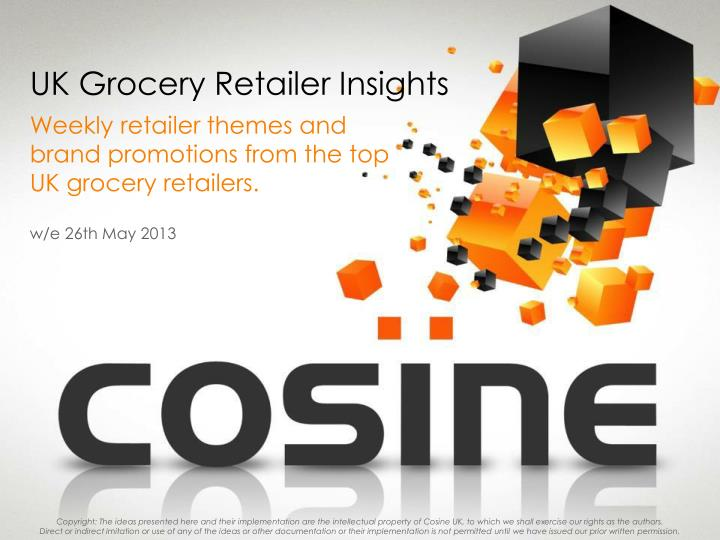 Uk grocery retailer insights