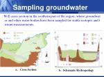 sampling groundwater1