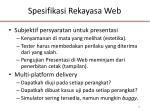 spesifikasi rekayasa web1