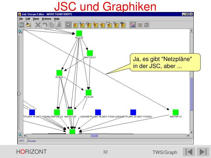JSC und Graphiken