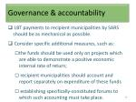 governance accountability