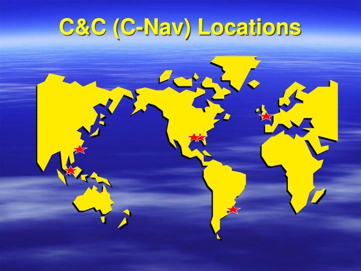 C&C (C-Nav) Locations