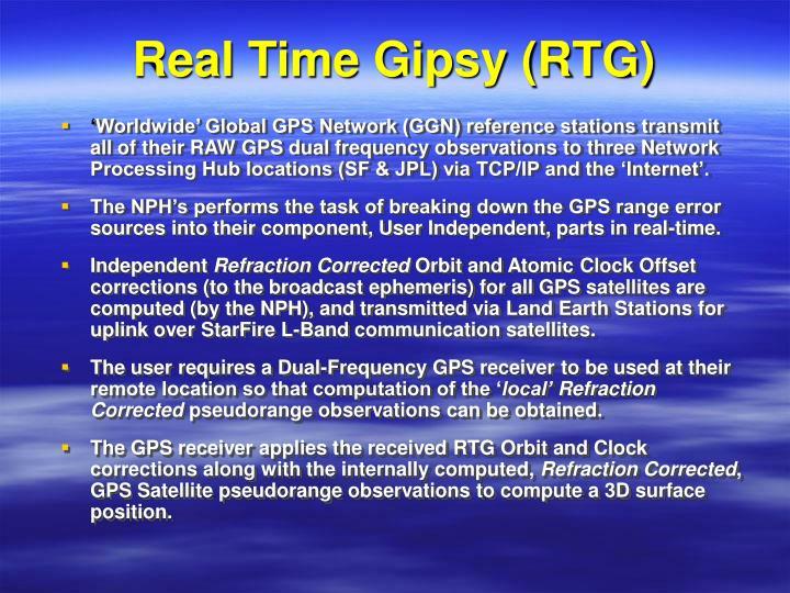 Real Time Gipsy (RTG)