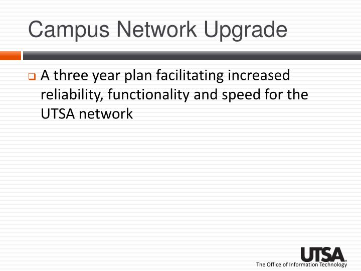 Campus Network Upgrade