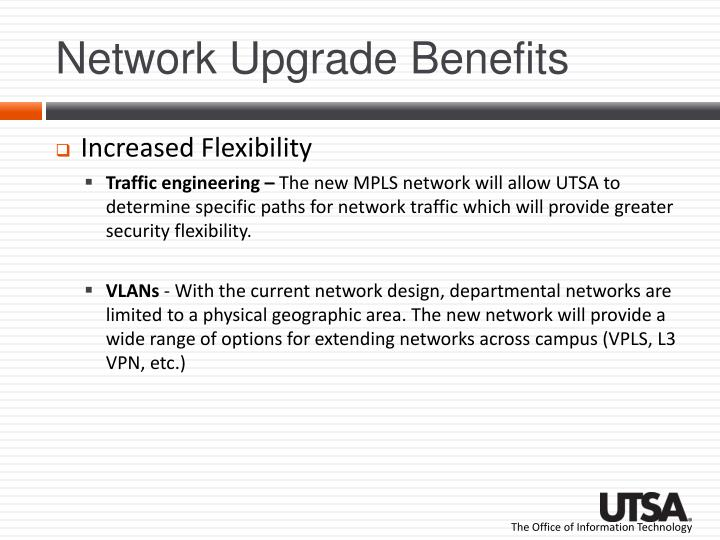Network Upgrade Benefits