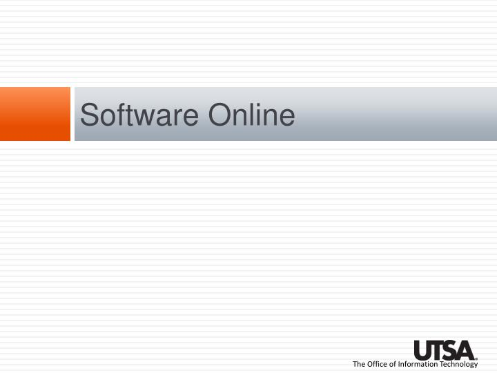 Software Online