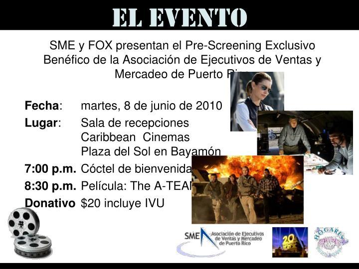 El Evento