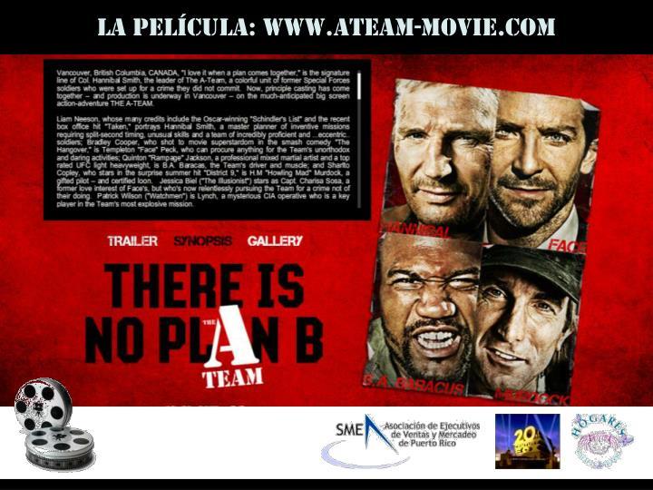La película: www.ateam-movie.com