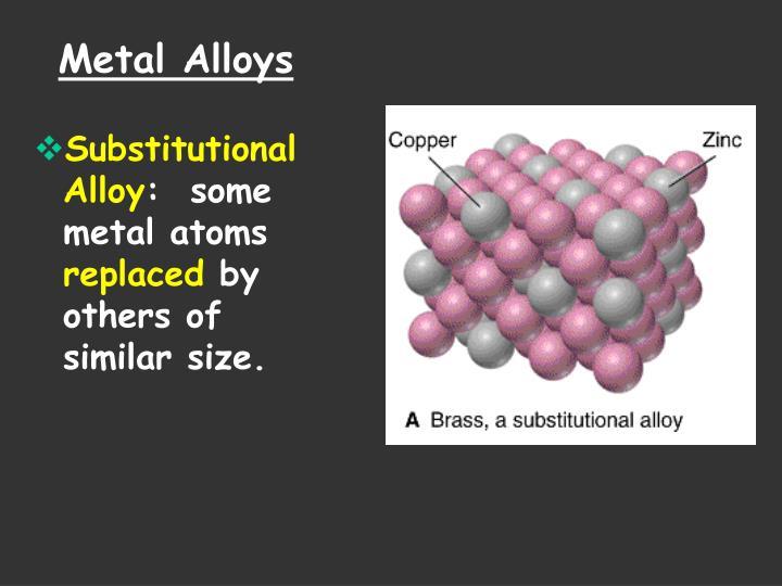 Metal Alloys