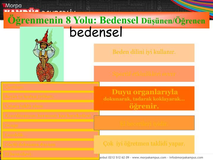 bedensel