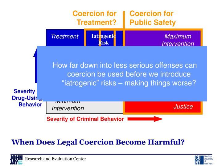 Coercion for Treatment?
