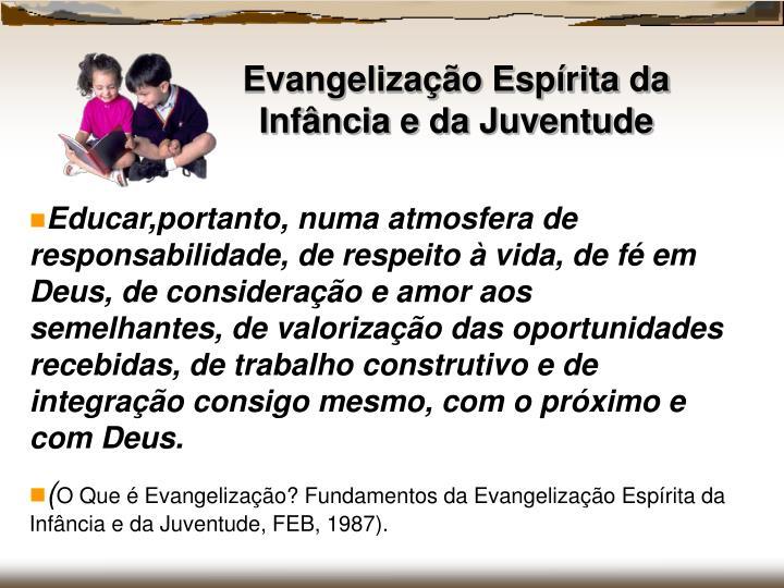 Evangelização Espírita da Infância e da Juventude