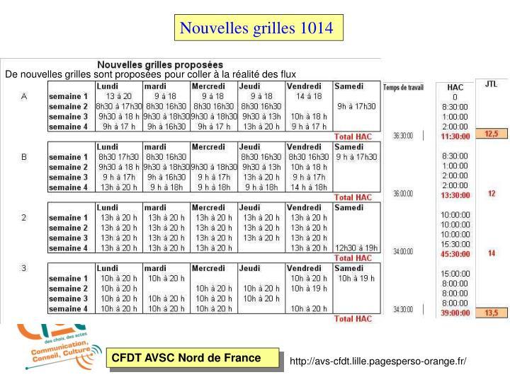 Nouvelles grilles 1014