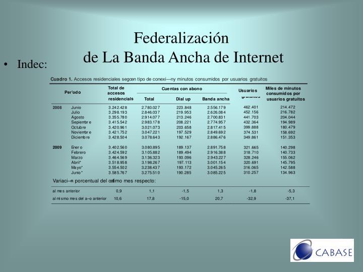 Indec: