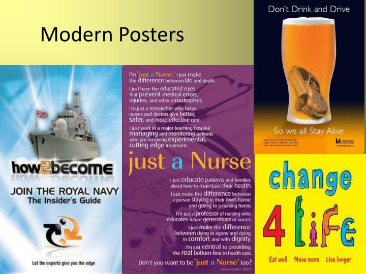 Modern Posters