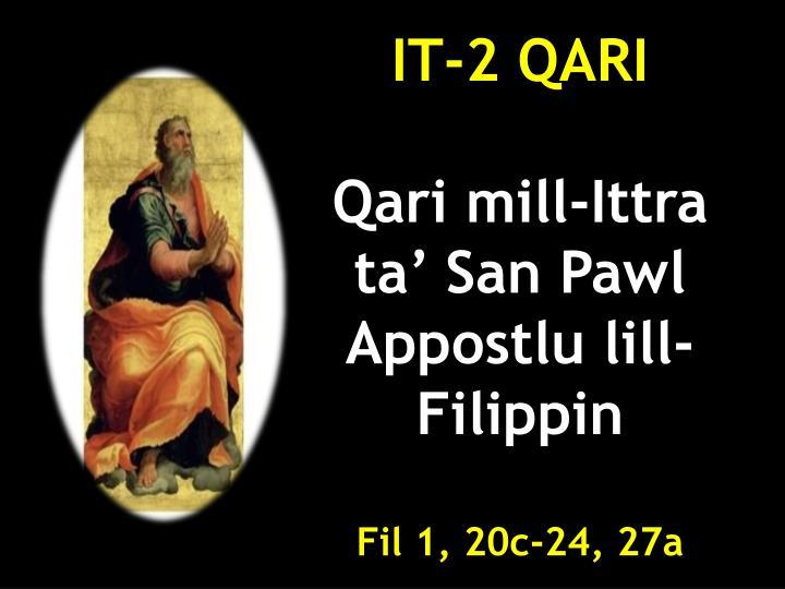 IT-2 QARI