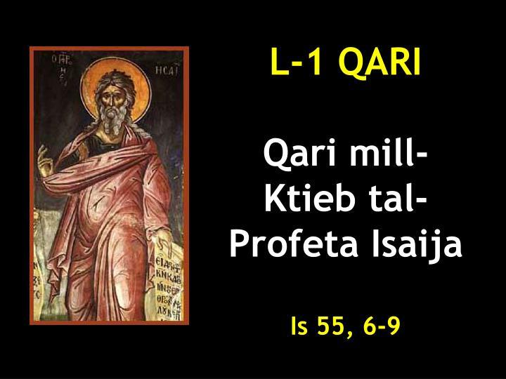 L-1 QARI