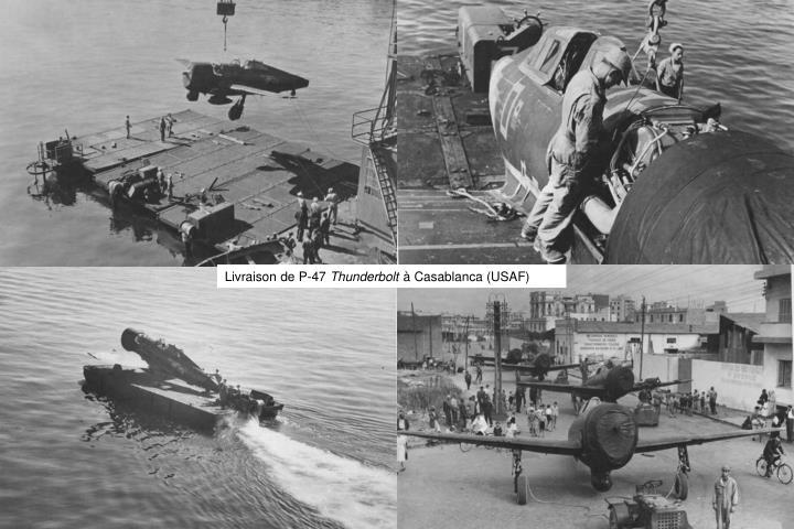 Livraison de P-47