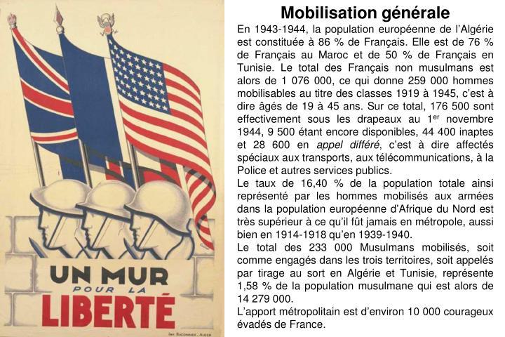 Mobilisation générale
