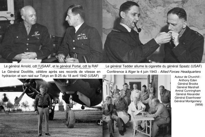 Le général Arnold, cdt l