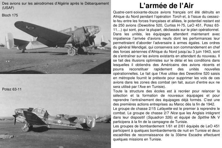 Des avions sur les aérodromes d