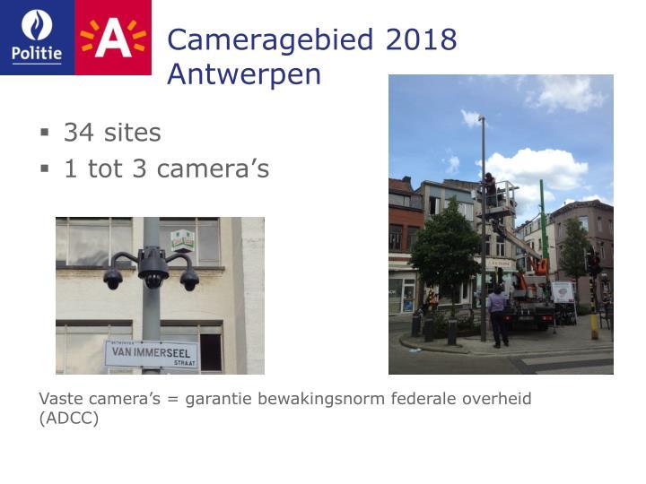 Cameragebied 2018 Antwerpen