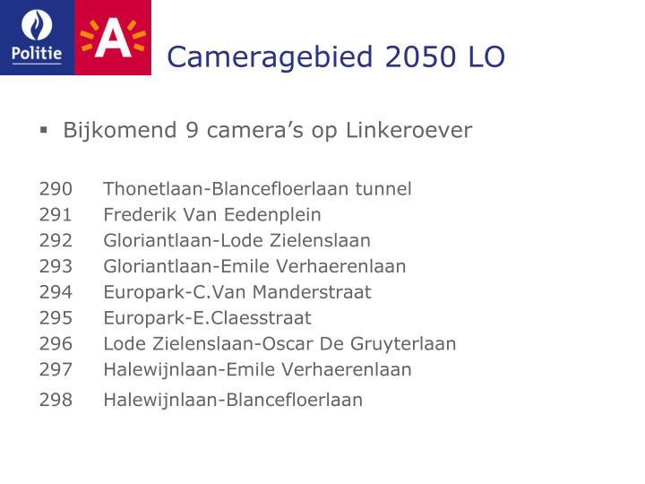 Cameragebied 2050 LO