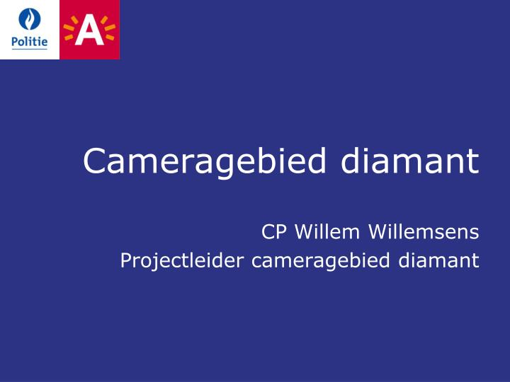 Cameragebied diamant