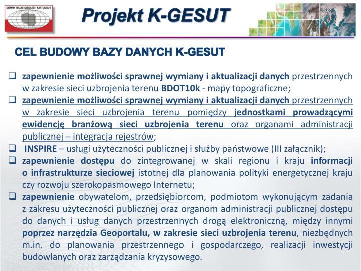 Projekt K-GESUT