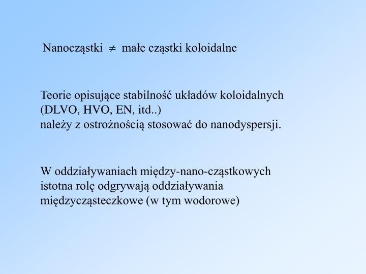 Nanocząstki