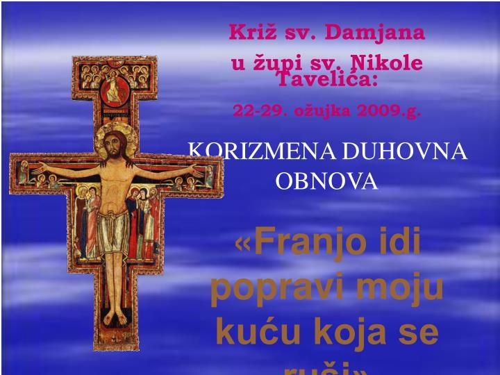 Križ sv. Damjana