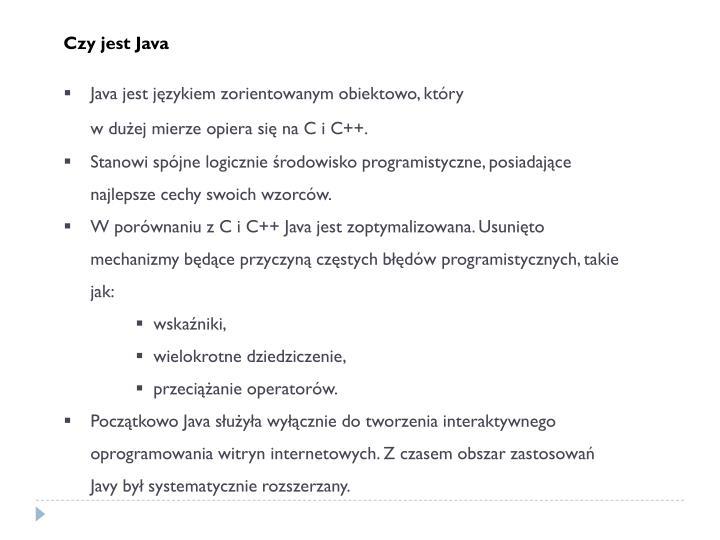 Czy jest Java
