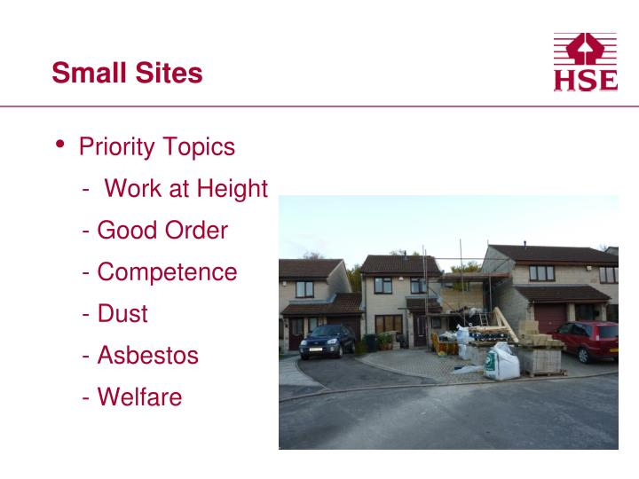 Small Sites