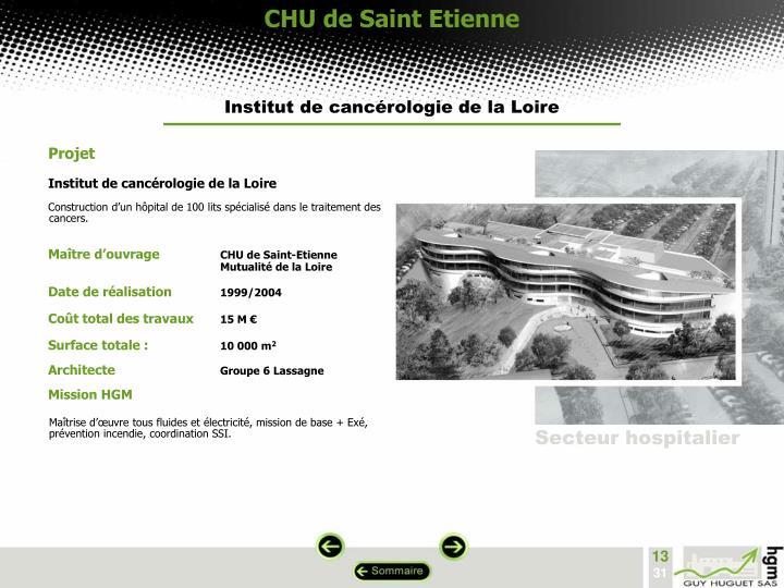 CHU de Saint Etienne
