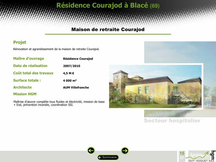 Résidence Courajod à Blacé