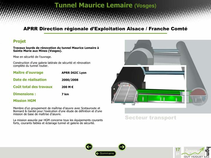 Tunnel Maurice Lemaire