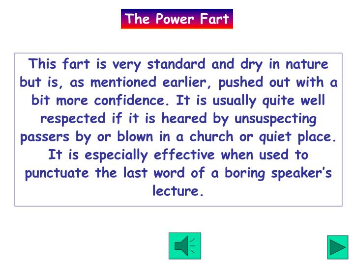 The Power Fart