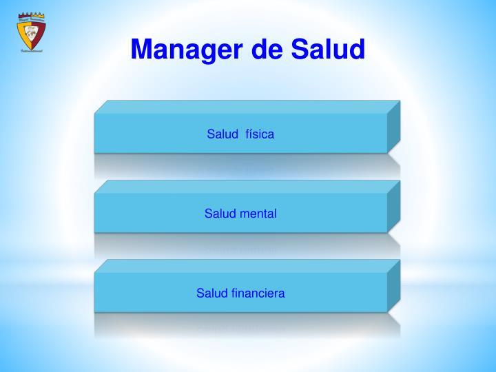Manager de
