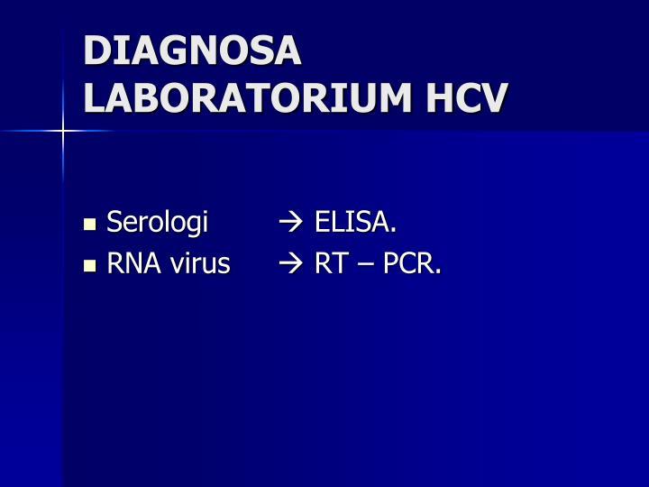DIAGNOSA LABORATORIUM HCV