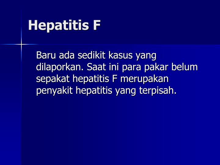 Hepatitis F