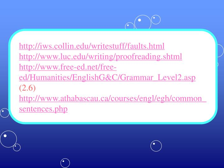 http://iws.collin.edu/writestuff/faults.html