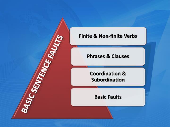 Basic sentence faults