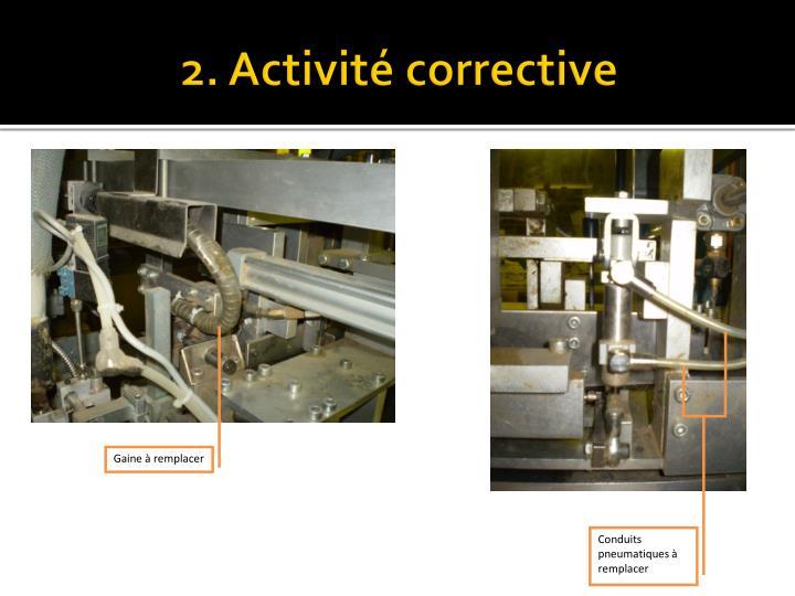 2. Activitécorrective