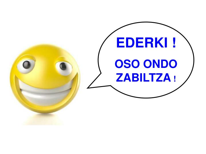 EDERKI !