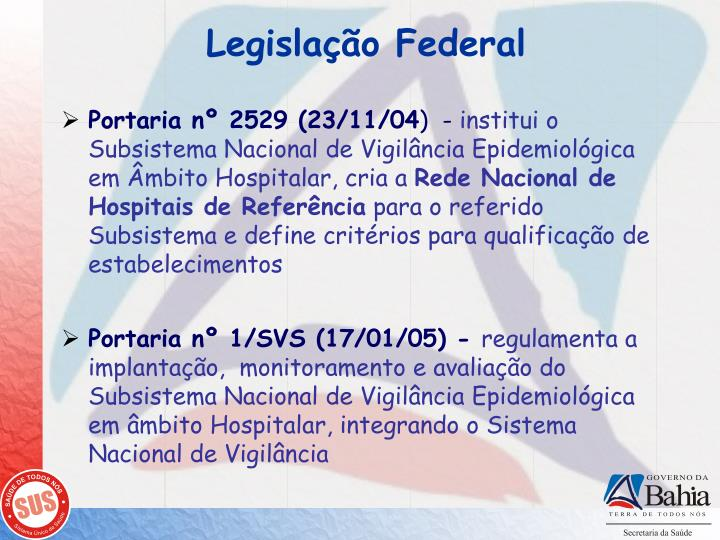 Legislação Federal