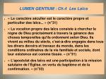 lumen gentium ch 4 les la cs