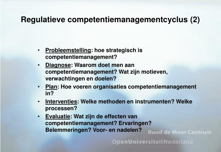 Regulatieve competentiemanagementcyclus (2)