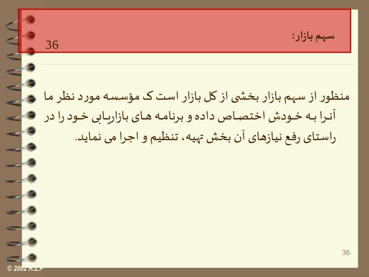 سهم بازار :