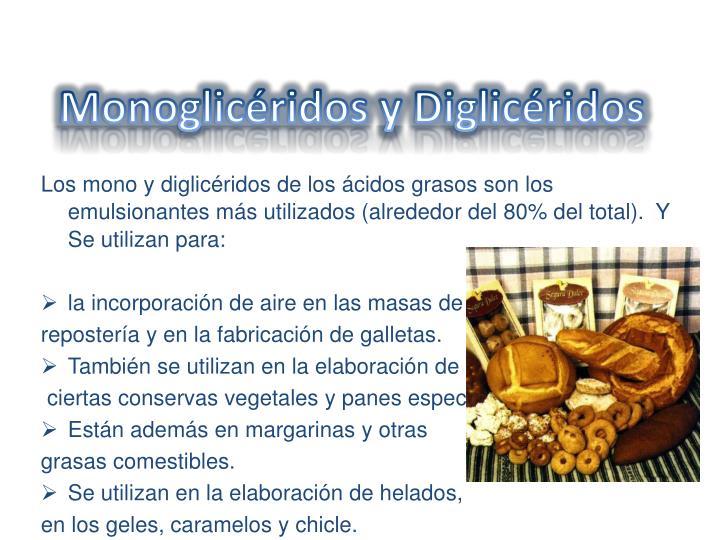 Monoglicéridos