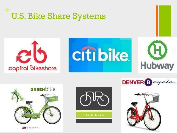 U.S. Bike Share Systems